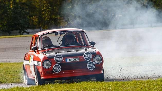 Rallye speciály na mosteckém autodromu