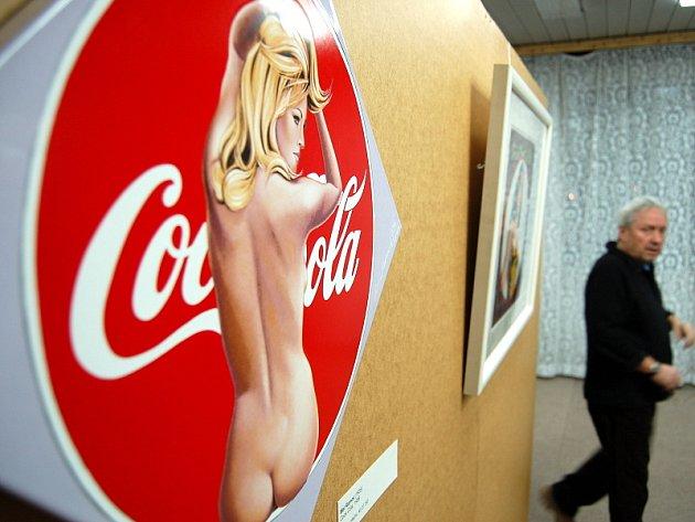 Jedno z vystavených děl Andyho Warhola.