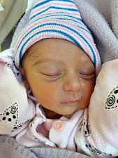 Julie Hoštová se narodila mamince Kateřině Hoštové z Vysokých Třebušic 19. října 2018 ve 20.02 hodin. Měřila 46 cm a vážila 2,39 kilogramu.