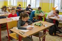 V Podkrušnohorském gymnáziu v Mostě se konalo krajské finále mezinárodní matematické soutěže Adama Riese
