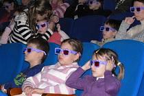 Film Cesta na Měsíc uvidí děti s 3D brýlemi trojrozměrně.