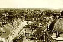 Město Most na pohlednicích