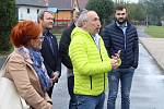 Václav Klaus mladší a Trikolora na návštěvě Mostecka a Lounska