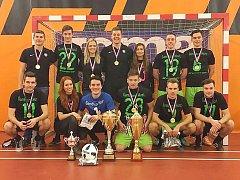 Gamblers Most jako vítěz mezinárodního Praga Cupu.