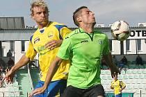 Baníkovci (v zeleném) v podzimní části přehráli Zlína doma 2:0.