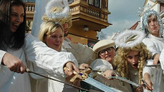 Svatomichaelské slavnosti v Litvínově v roce 2008.