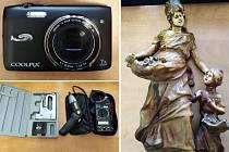 Policie hledá majitele věcí, ukradených na Mostecku