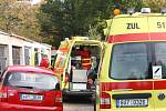 Záchranáři zasahují u zraněných mužů v Litvínově
