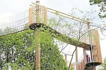 V parku Šibeník otevřou Fun park.