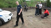 Strážníci zadrželi v areálu skleníků čtveřici chmatáků