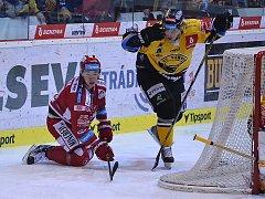 Litvínov hrál doma s Třincem.