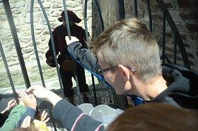 Dne Magistra Edwarda Kelleyho na hradě Hněvín v Mostě