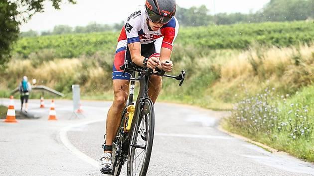 Triatlonista Jakub Langhammer vyhrál anketu v loňském roce.