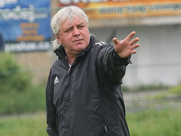 Jeden z mosteckých trenérů Pavel Chaloupka.