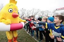Běh pro kuře v Praze, v pátek bude v Mostě.