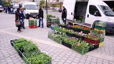 Farmářské trhy v Mostě.