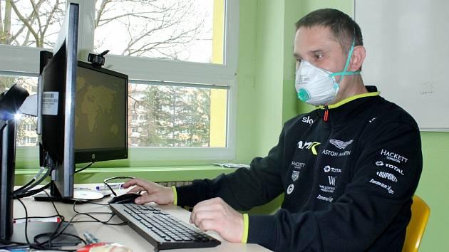 IT specialista Aleš Jaroš