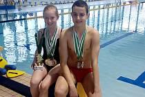 Kamila Javorková a Adam Novák.