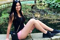 Studentku Kláru Hrabčákovou z Mostu čeká finále soutěže Supermiss.