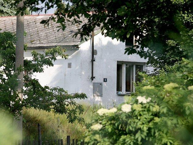 Dům, v němž mělo dojít k vraždě.