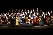 Koncert Festivalového orchestru Petra Macka v mosteckém divadle