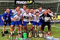 Mostecký tým malé kopané Švejk na Praga Cupu.