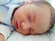 Jakub Machač se narodil 19. ledna 2018 v 11.13 hodin mamince Petře Lugerové z Mostu. Měřil 48 cm a vážil 2,94 kilogramu.