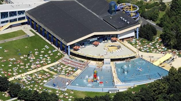 Aquadrom otevřel saunu, venkovní bazény jsou připravené.