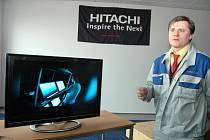 Televizory z Hitachi se budou skladovat v novém logistickém centru