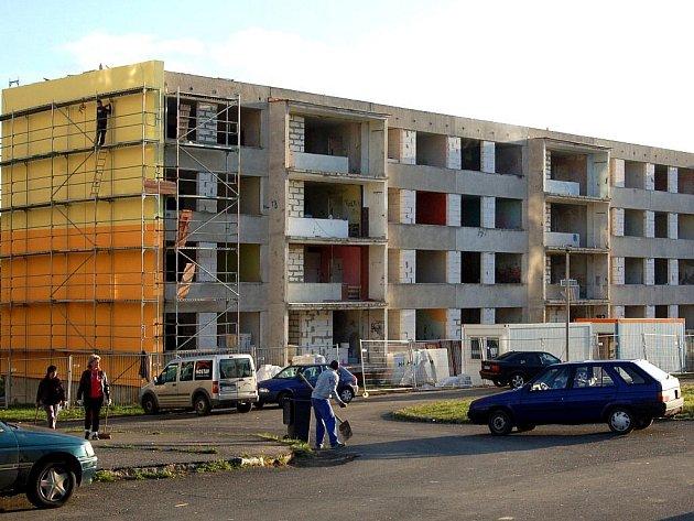 Rekonstrukce panelového domu.