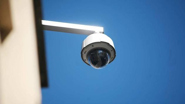 Ilustrační snímek. Kamerový sledovací systém ve městě