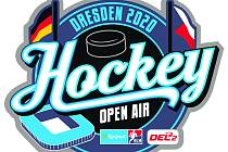 Logo Hockey Open Air Drážďany.