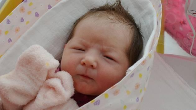 Žofie Machovcová se narodila 28. března v 9.13 hodin. Rodičům Kláře Zdeňkové a Jiřímu Machovcovi se narodila 28. 3. 2021 v 9.13 hodin. Měřila 52 cm a vážila 3,80 kg.