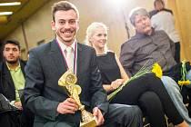 Plavec chomutovské Slavie pocházející z Mostu Tomáš Franta se stal vítězem ankety Nejúspěšnější sportovec junior Ústeckého kraje 2015.