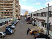Ulice Ve Dvoře za mosteckým Rozkvětem. Archivní foto