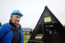 Jaroslav Richter pracuje jako průvodce v krušnohorské štole Svatého Mikuláše na okraji městečka Hora Svaté Kateřiny v okrese Most, kde se těžilo stříbro a měď.