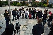 V Mostě se konala třetí procházka s architekty v rámci občanské iniciativy Moje město, moje místo.