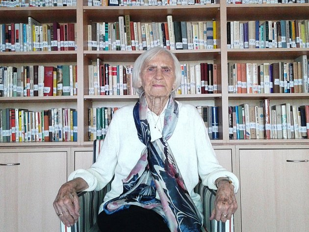 Milada Chmelařová.