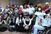 Posvícenská zábava v kulturním domě v Louce. Foto: Klub seniorů Louka u Litvínova