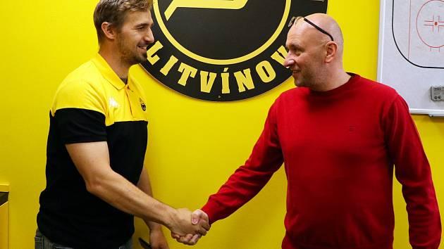 František Lukeš dál zůstává hráčem Litvínova.