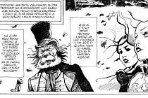 Nový komiks o Draculovi.