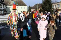 Tradiční oslavy masopustu se uskutečnily v sobotu v krušnohorském městě Hora Svaté Kateřiny.