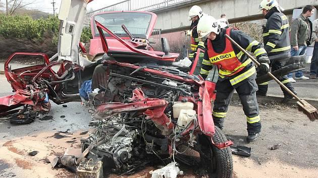 Smrtelná nehoda u Liběšic na Mostecku.