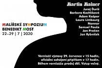 Letošní ročník Malířského sympozia v areálu Benediktu v Mostě bude probíhat ve dnech 22. až 29. července.