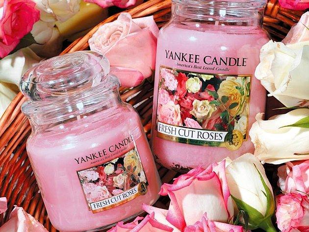 Svíčky Yankee Candle.