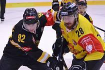 Hokejová Liga mistrů mezi domácím Litvínovem a Vídní Capitals.