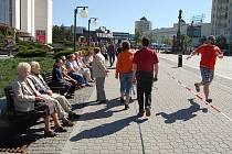 Lidový běh O pohár primátora na 1. náměstí v Mostě. Archivní snímek