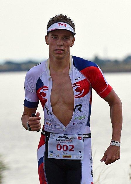 Triatlonista Jakub Langhammer.