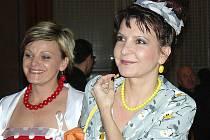 Letošní Muzikantský ples v Litvínově se nesl ve stylu retro.