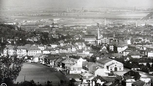Výpravy do historie: královské město Most. Pohled na město.